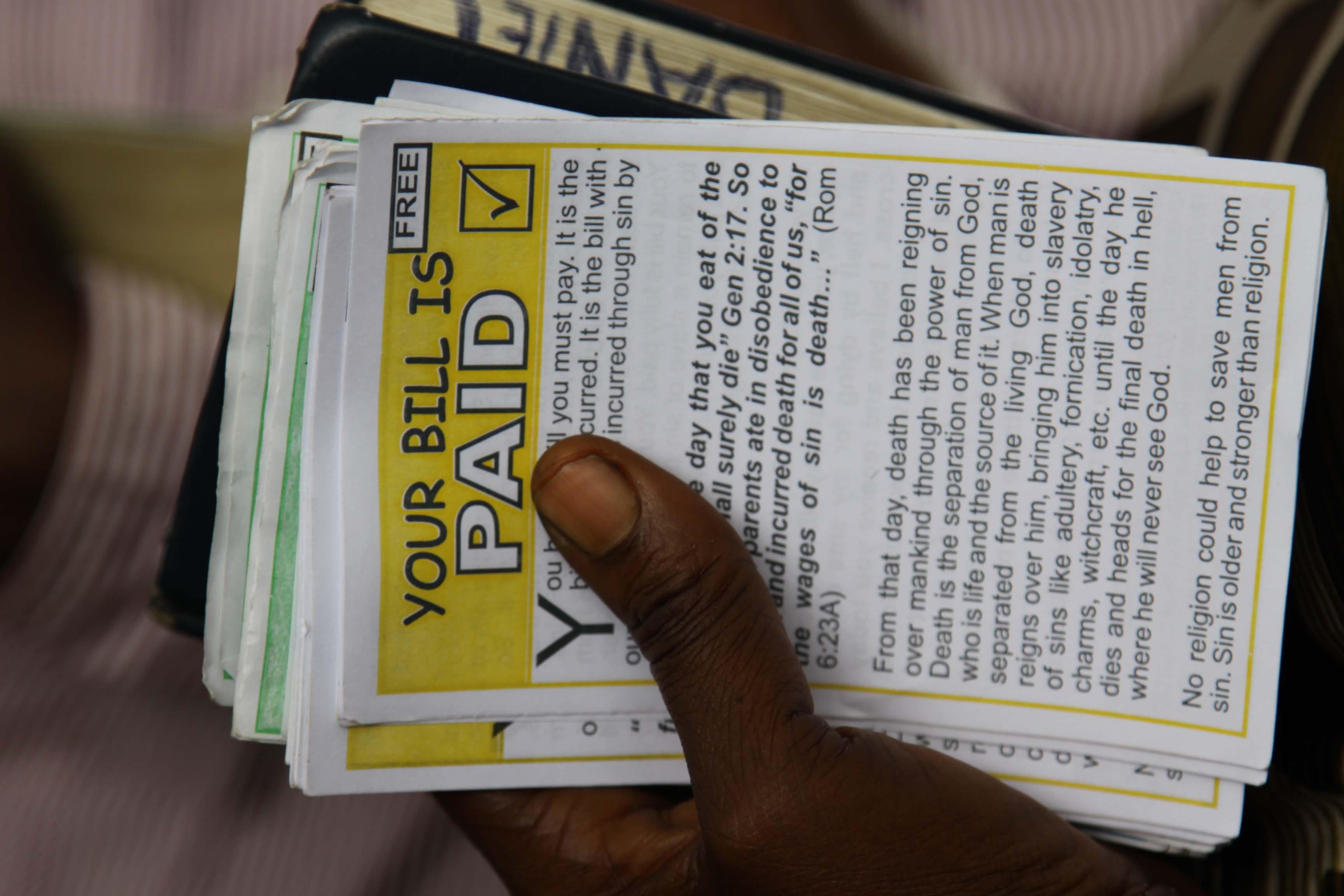 Image result wey dey for evangelist leaflets nigeria